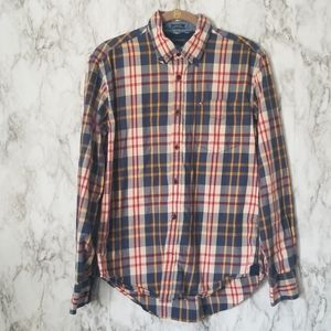 Tommy Hilfiger| Custom Fit Plaid Button Down